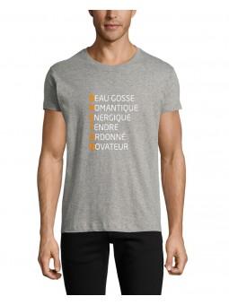 T Shirt - Initiales Breton