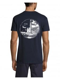 T Shirt Marin - Phare de l'Ile Vierge