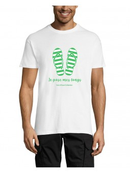 T Shirt - Je pose mes tongs