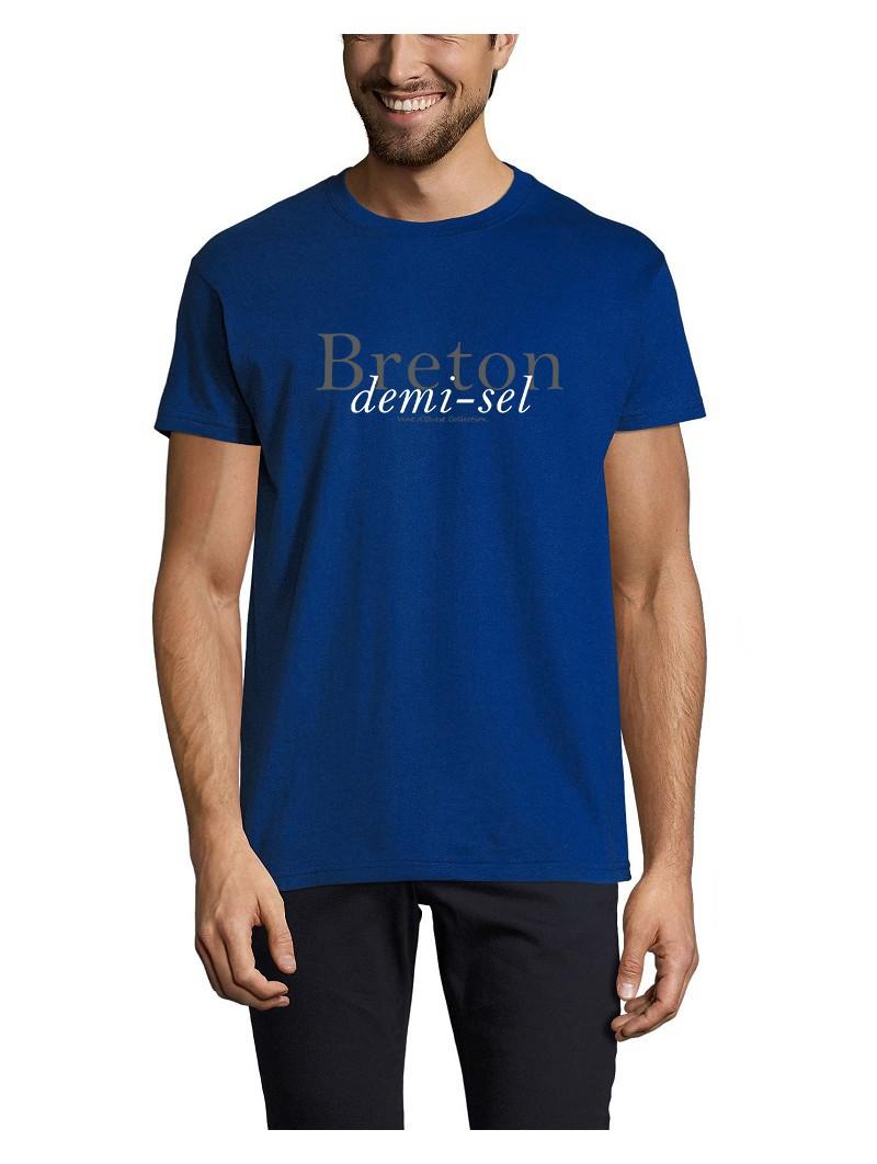 T Shirt - Breton demi-sel