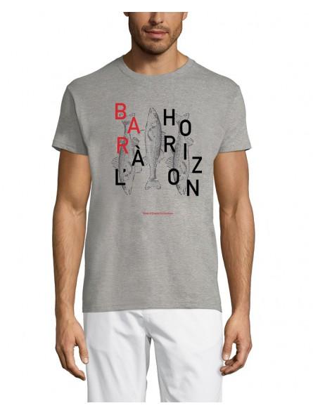 T Shirt Marin - Bar à l'Horizon