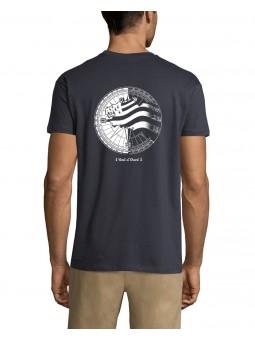 T Shirt Marin - Terre de Marins gris foncé