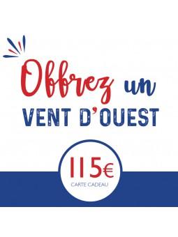 Carte cadeau 115€